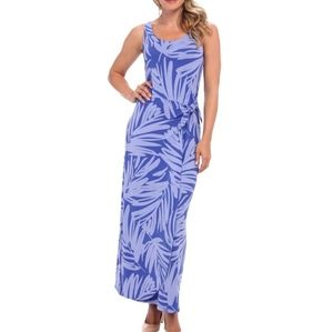 Tommy Bahama Tropical Maxi Faux Wrap Dress